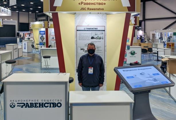 АО «Равенство» представляет свои разработки на Международном форуме «Российский промышленник»