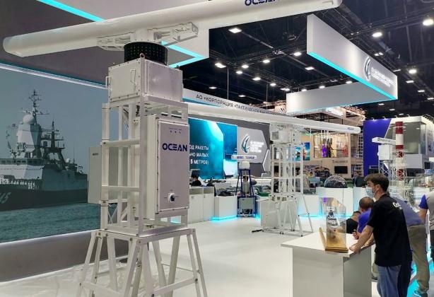Современная радиолокационная станция «Океан-100» представлена на МВМС-2021