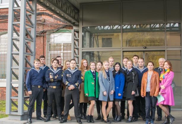 Студенты Государственного университета морского и речного флота имени адмирала С.О. Макарова посетили АО «Равенство»